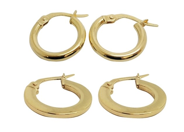 Picture for category HOOP EARRINGS