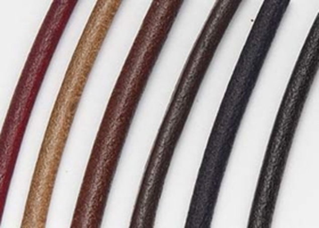 4mm Round Leather Cord