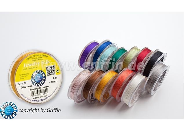 Jewelry Silk Cord Garnet