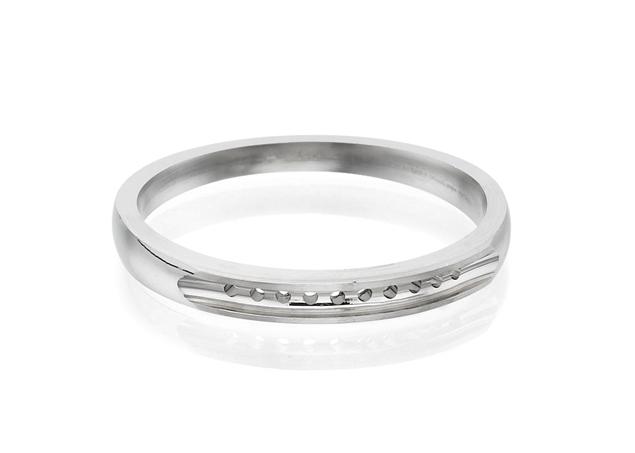 Half Eternity Anniversary Ring