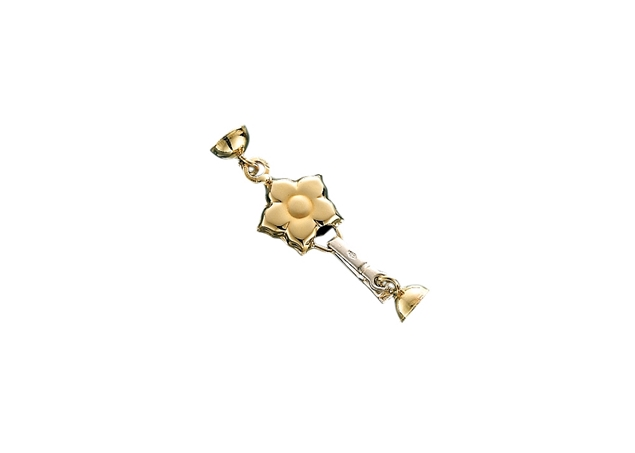 Flower Pearl Clasp 1 Line