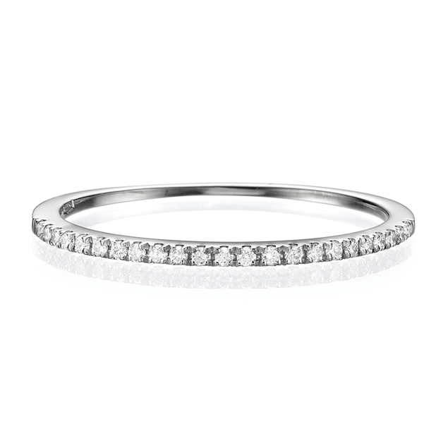 Half Eternity Wedding Band.115 CT TW in