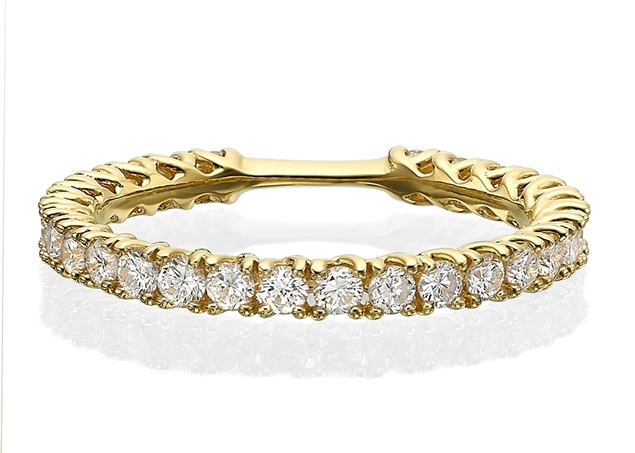 Diamond Eternity Ring 0.84 ct tw