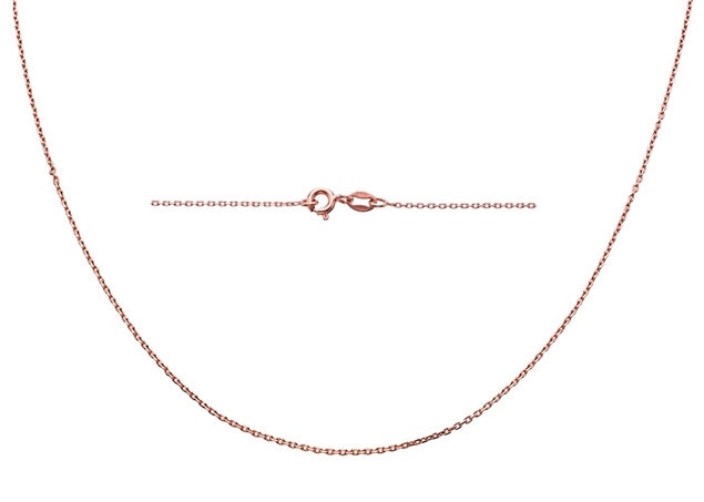 1.6X1mm Diamond Cut Rolo Chain