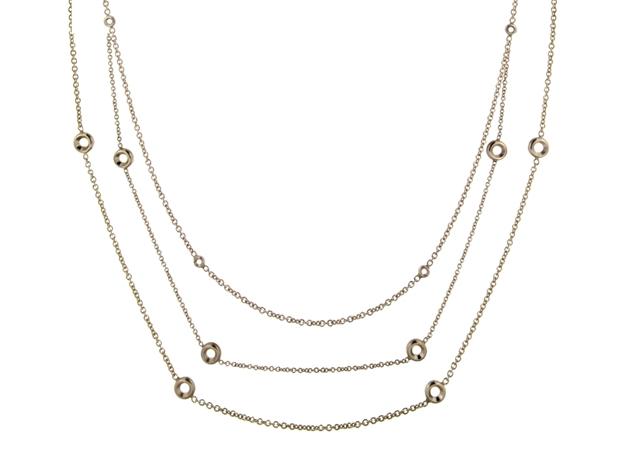 Изображение для категории Ожерелье с бриллиантом глухой закрепки