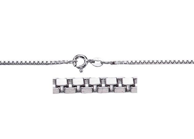 Picture for category Sterling Silver Box Chain