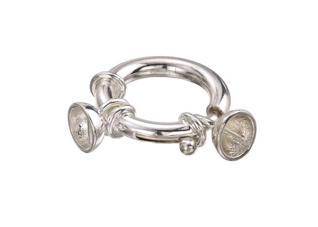 Изображение для категории Застёжка пружинное кольцо с чашечками