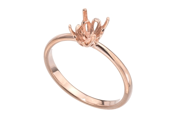 Изображение Emerald Solitaire Ring