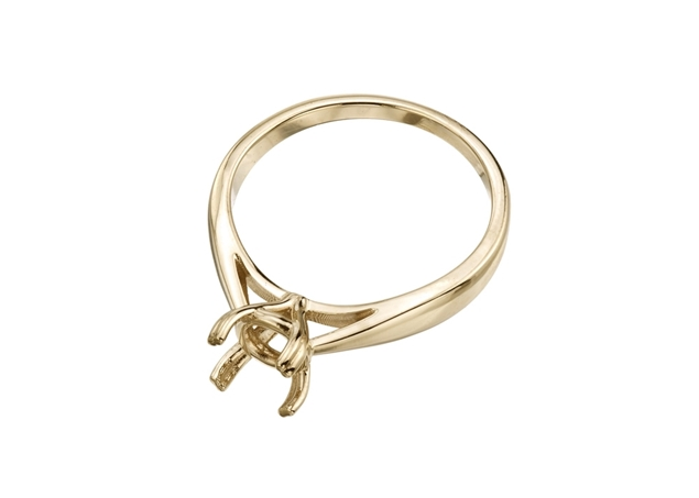 Изображение Round Semi-Mount Engagement Ring