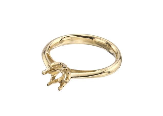 תמונה של טבעת לשיבוץ עגול 6 שיניים