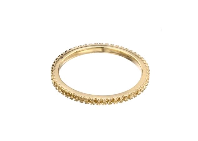 תמונה של טבעת נישואין לשיבוץ קלה