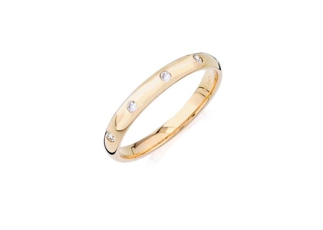 Изображение Round Cut Diamond Anniversary Ring