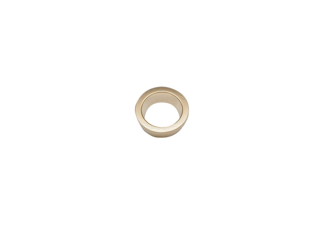 Изображение Tapered Round Gold Bezel