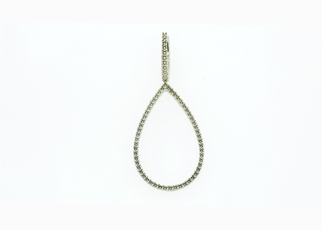Изображение Teardrop Lever Back Earrings