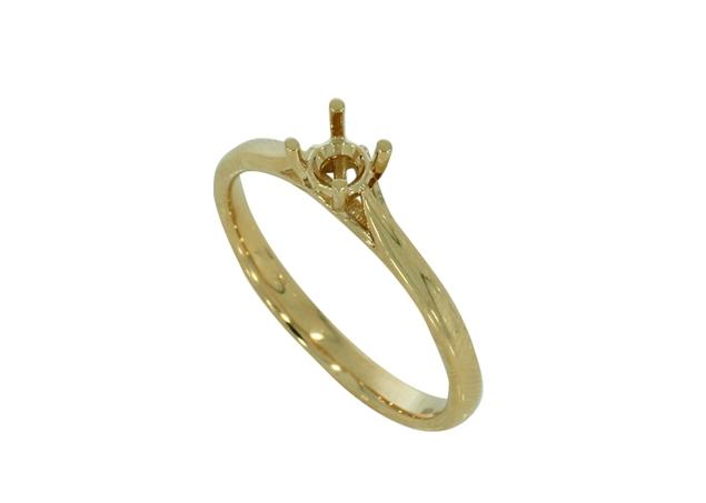 תמונה של טבעת אירוסין קדרל 4 שיניים