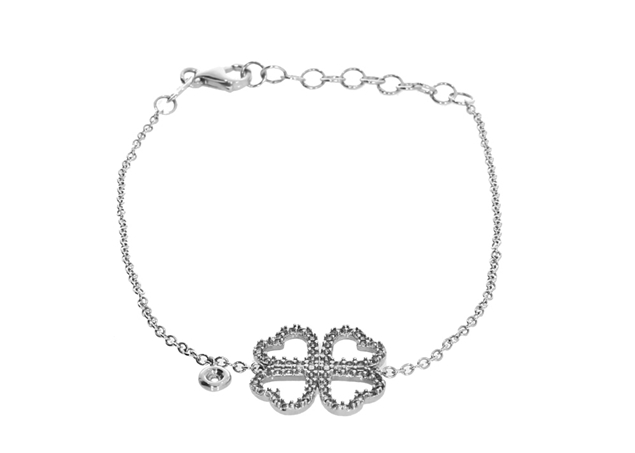Picture of Flower  Bracelet with Diamond