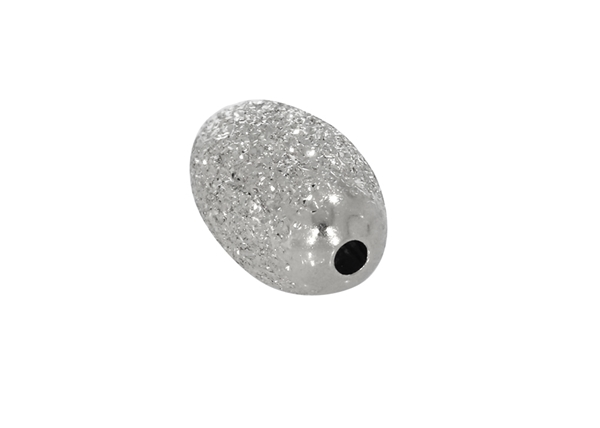 Picture of Diamond Cut Oval Bead 10x6mm