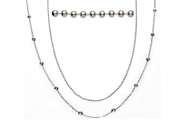 Picture for category Sterling Silver Bead Chain