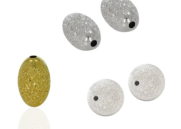 תמונה עבור הקטגוריה חרוזי כסף חיתוך יהלום