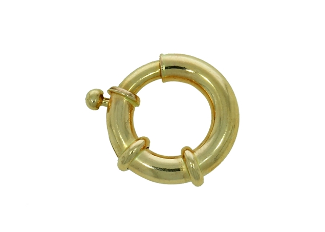 Изображение Spring Ring Clasp With Attachment