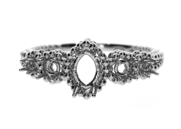 Picture of 5 Stone Engagement Ring Marquize