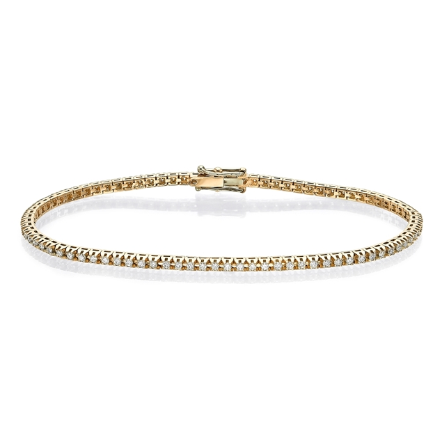 Изображение Diamond Cut Tennis Bracelet 0.84 CTW