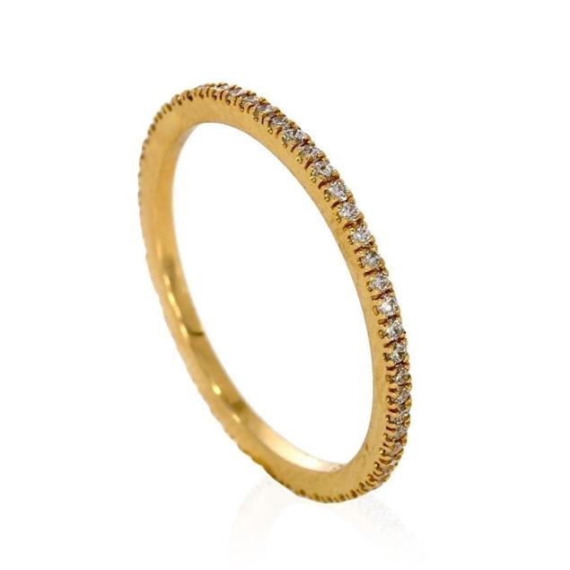 תמונה של טבעת איטרניטי 0.46ctw