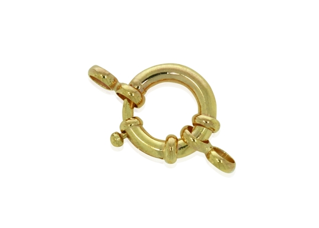 Round Snap Closure Clasp