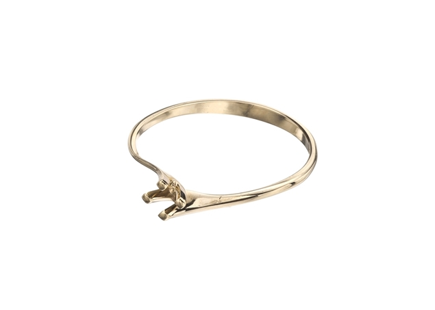 תמונה של טבעת אירוסין מסובבת קלה