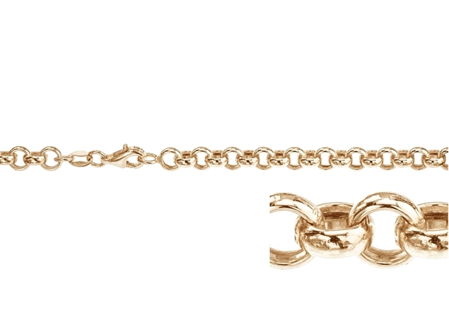 4.2mm Rolo Necklace