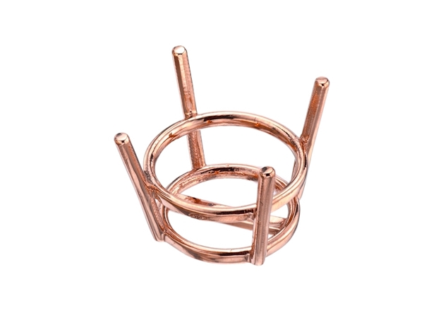 4-Prong Basket For Stud