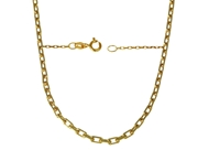 Picture of Diamond Cut Rectangular Link Chain