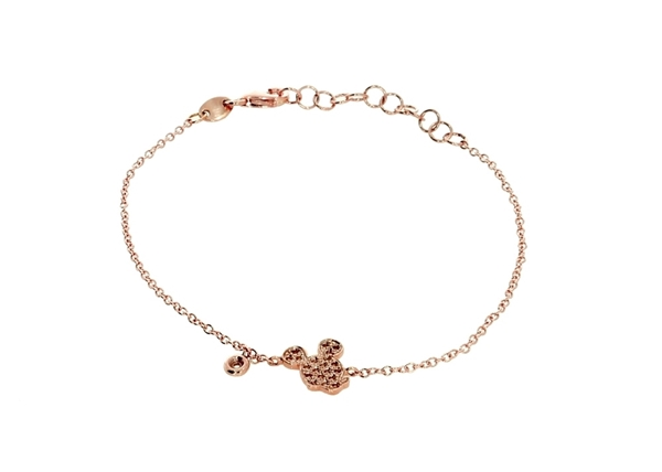 c03a2929c22d9 Mickey Mouse Bracelet with Diamond