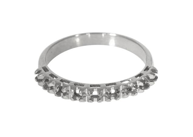 Изображение Diamond Cut Half Eternity Ring 9 Stones