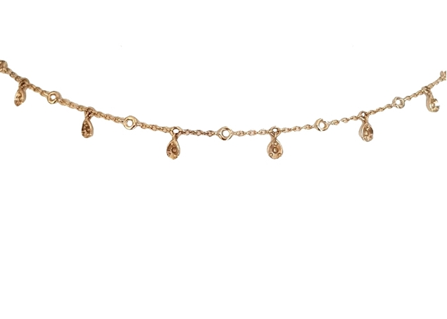 Изображение Bezel Diamond Necklace
