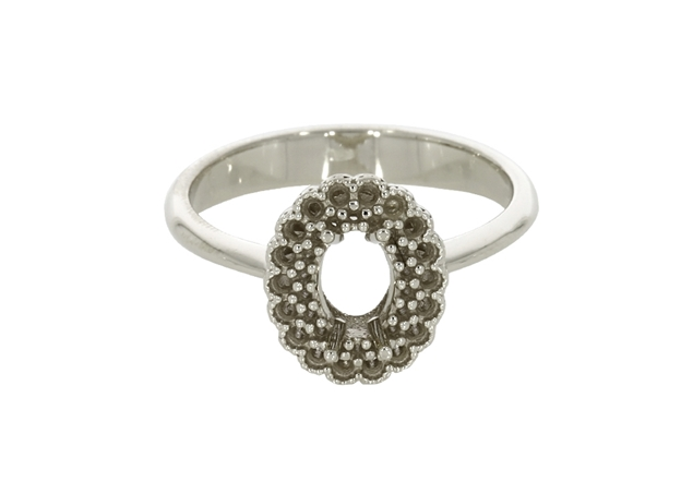 Picture of Oval Diamond Ring