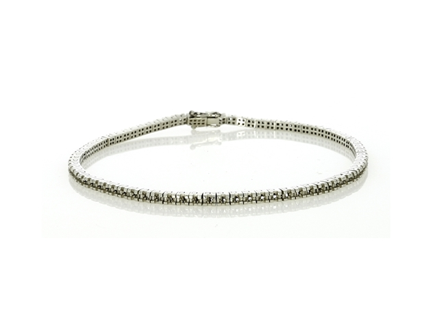 Picture of Princess Cut Shape Tennis Bracelet