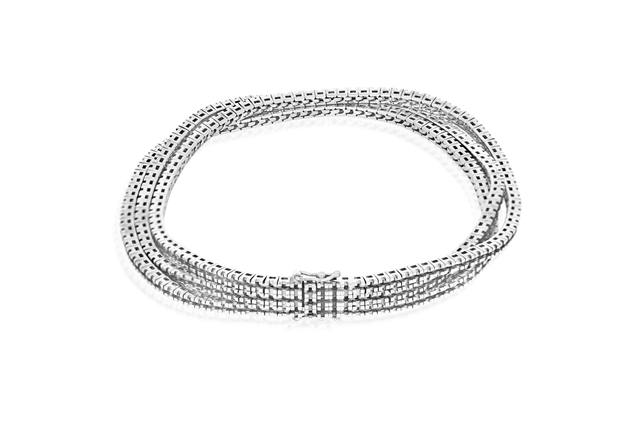 Picture of Accented 3 Lines Bracelet