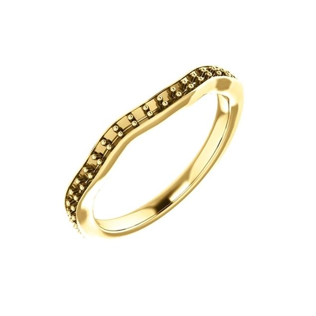 תמונה של טבעת חצי איטרניטי לשיבוץ