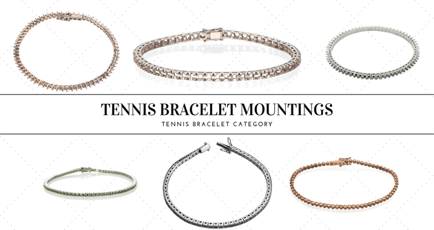 Picture for category TENNIS BRACELET MOUNTINGS