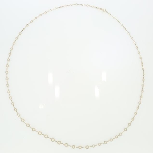 Picture of Bezel Set Diamond Necklace 4.75 CTW