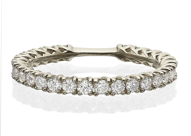 Изображение Half Eternity Wedding Band 0.31 CT TW