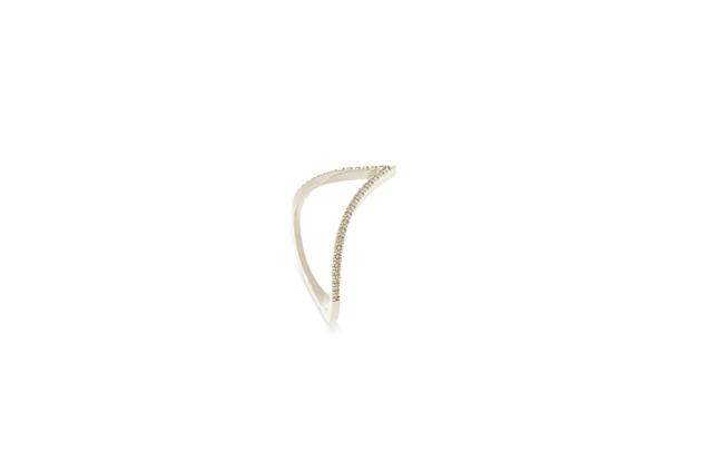 תמונה של טבעת V  לשיבוץ