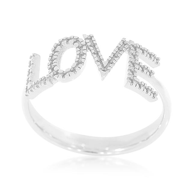 תמונה של טבעת שם אהבה