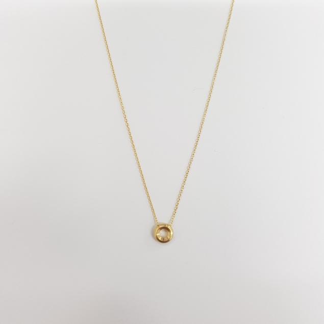 Изображение Pendant Diamond Necklace-42/45cm